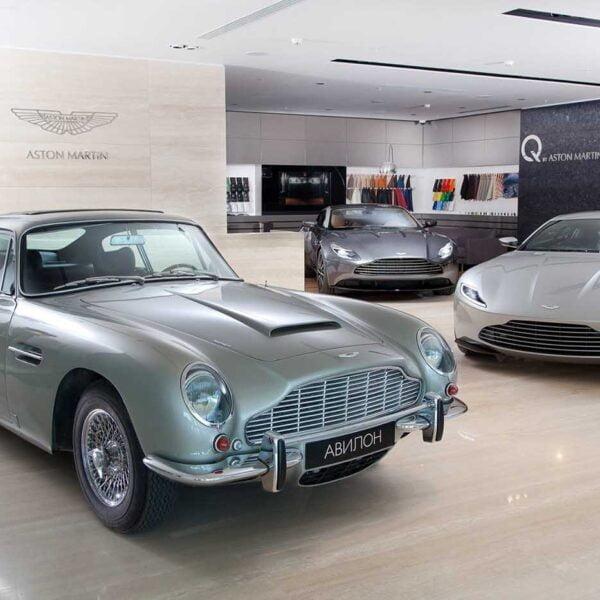 Aston Martin - Moscow
